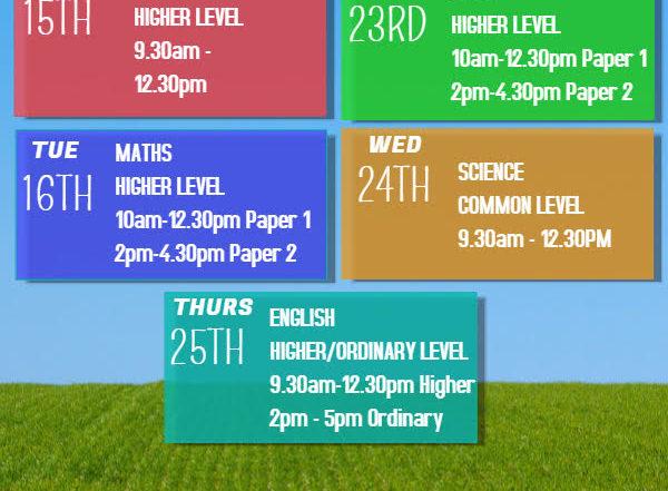 Junior Cert Revision Courses